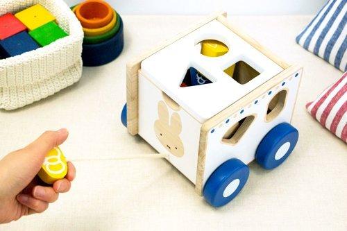 おもちゃ  ディック・ブルーナ   おさんぽパズルカー
