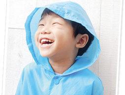 たまには雨の音も楽しむこんな親子時間