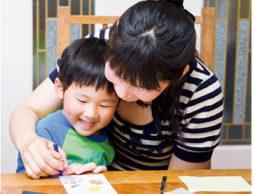 押し花はがきで手紙を書こう!おじいちゃん、おばあちゃんに暑中お見舞い!