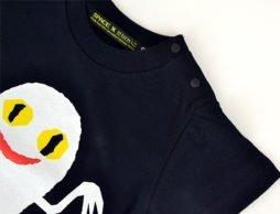 インパクトも可愛さもユニーク度も抜群! 「ねないこだれだ おばけTシャツ」キッズサイズ