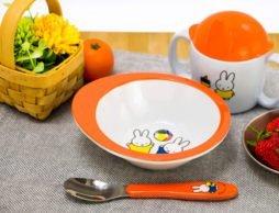 あかちゃんのいる食卓を明るく可愛く!「ディック・ブルーナ 3ピースベイビーセット」
