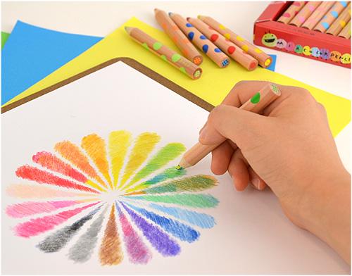【入園・入学 グッズ】重ねることでより豊かで深い色に! 書き心地も文句なしの「ミックス色鉛筆」
