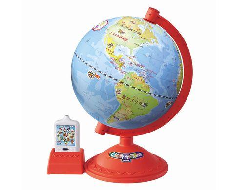 【入園・入学・進級フェア】「ナマステ!」インドにいるカレー王子から電話!?遊んで学べる「くにキャラ地球儀」<今がチャンスの40%OFF>