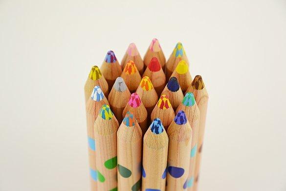 【入園・入学・進級フェア】重ねることでより豊かで深い色に! 書き心地も文句なしの「ミックス色鉛筆」