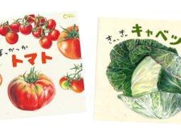 いつも食べてる野菜がもっともっと好きになる絵本!「どーんと やさい」シリーズ
