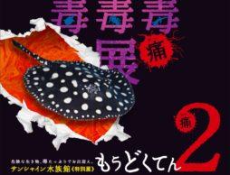 【news】きたー!!毒毒毒毒毒毒毒毒毒展・痛(もうどく展2)3月開催!