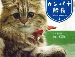 【news】船乗り猫「カンパチ船長」の初めての写真集が発売!