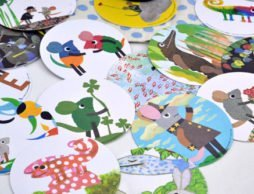 <ギフトにおすすめ豪華絵本セット> レオ・レオニの絵本24冊セットにコースター40枚!!