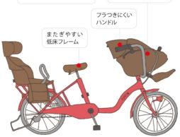 子ども乗せ自転車の選び方&乗せ方