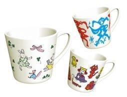本気で悩んでも…選べない!人気絵本作家15名オリジナルマグカップ