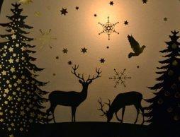 【クリスマス アドベントカレンダー】冬の夜