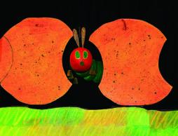 名作絵本『はらぺこあおむし』が0歳から楽しめる大型人形劇「エリック・カールのはらぺこあおむし」に!