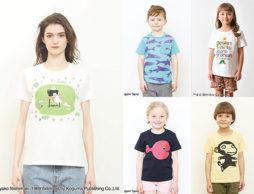 【夏フェア】夏はやっぱりTシャツ!人気絵本Tシャツベスト100