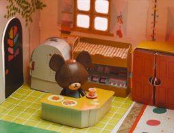 【news】「くまのがっこう 手づくりBOOK」おしゃれで可愛いジャッキーのお部屋つくっちゃおう!