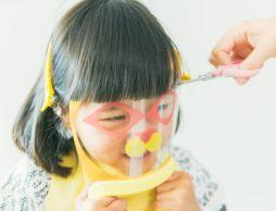 【news】子どもの前髪カット、楽しく安全、快適に!「変身カットマスク」