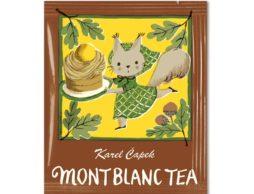 マロンフレーバーの秋紅茶「モンブランティー」発売
