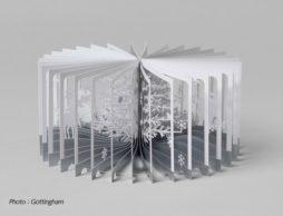 【クリスマス】ぐるりと360°開けば立体ジオラマが!?これまでにない驚きのしかけ「360°BOOK」