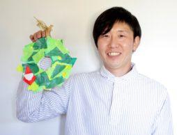 【工作あそび】牛乳パックの簡単ペタペタ「クリスマスリース」