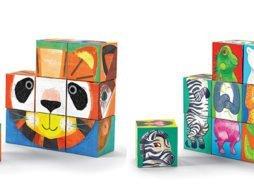 <ギフトにおすすめ> 遊びのアート「クロコダイル・クリーク ブロックパズル」