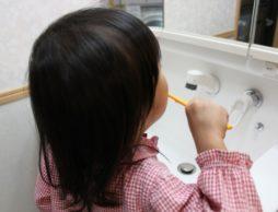 歯磨きで虫歯にさせない!