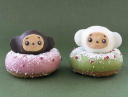 【news】「チェブラーシカ」がクリスマスのドーナツになりました!