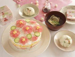 ひなまつりを華やかに盛り上げる!可愛く作れる簡単レシピ♪