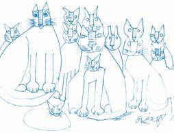 【招待券プレゼント】猫好き画家の素敵な暮らし「猪熊弦一郎展 猫たち」@Bunkamura ザ・ミュージアム 3/20~4/18まで