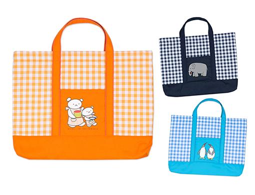 【入園・入学 グッズ】こぐまちゃんとどうぶつえんの仲間たちが可愛いレッスンバッグになって新登場!