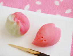 【news】親子で和菓子作り♪「手しごとワークショップ~桜の和菓子~」が開催!