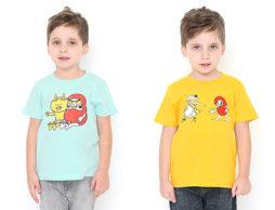 …ついに、だるまちゃんもTシャツに!?<かこさとし×グラニフ>登場です(2)『だるまちゃんとてんぐちゃん』『だるまさんとかみなりちゃん』