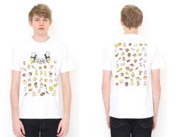 あの名シーンを着こなしちゃおう♪ <かこさとし×グラニフ>登場です(1)『からすのパンやさん』がTシャツに!