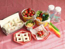 幼稚園のお弁当や春の親子遠足に。かわいい!ほめられ弁当♪