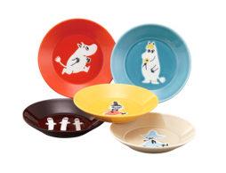 家族で使いたい♪「ムーミン プレート」&「小皿プレート」