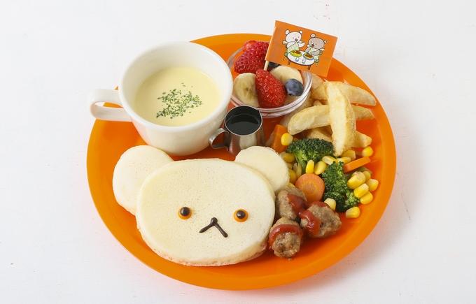 「しろくまちゃんのパンケーキ」発売開始!J.S. PANCAKE CAFEx『しろくまちゃんのほっとけーき』のかわいい限定キッズプレート!