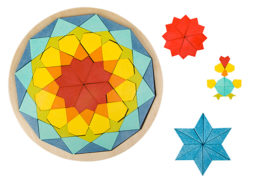 【夏フェア おもちゃ】インスピレーションはどこまでも…!「マンダラブロック」&「トライアングルモザイク」