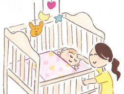 赤ちゃんの布団・ベビーベッド選び