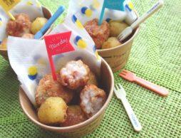 里芋のコロコロポテト!子どももおいしくたっぷり食物繊維がとれるレシピ