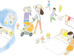 赤ちゃんの生活リズムの整え方と睡眠&夜泣き対処法