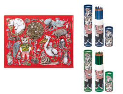 【クリスマス】…贅沢に思い切り使いたい!!ヒグチユウコ×ホルベイン画材コラボアイテム!