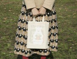 \12月限定キャンペーン開催中/【絵本ナビ限定】しろくまオリジナルトートバッグプレゼント♪