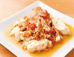 トマトと豆腐と卵のチャンプルーde離乳食
