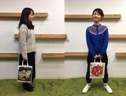 【コーディネート特集】絵本ナビ限定「オリジナルトートバッグ『EHONTOTE』no.2 おくはらゆめ」を使ってみた!