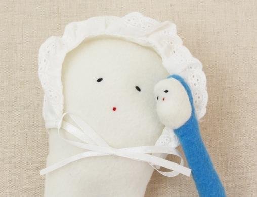 人気絵本『にゅうしちゃん』のぬいぐるみで、歯ともっと仲良しになろう!