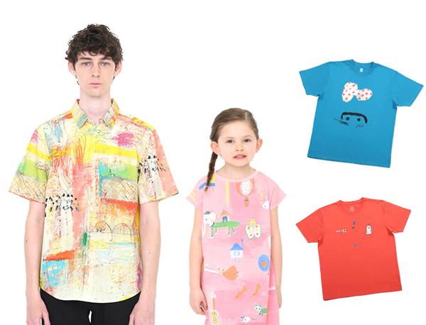 夢のコラボレーションが遂に実現!ぼくらはこんなシャツが欲しかったんだ【荒井良二×グラニフ】