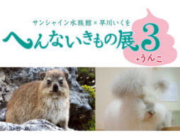 サンシャイン水族館「へんないきもの展3+うんこ」この夏はうんこがへんな生き物を見よう!