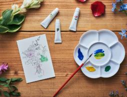 香りの魅力を楽しみながら学べる絵の具「香の具(kanogu)」が発売!