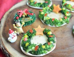 クリスマスに作りたい!ブロッコリーの「リースピザ」