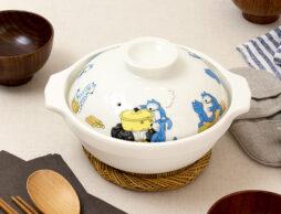 冬はやっぱり「ほっこりお鍋」がいいよね…ニャゴ♪ 「11ぴきのねこ」の土鍋が出来ちゃいました!
