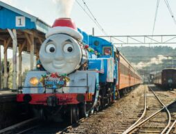2020年12月親子で冬の大井川鐵道!クリスマス仕様のきかんしゃトーマス号に会いに行こう!