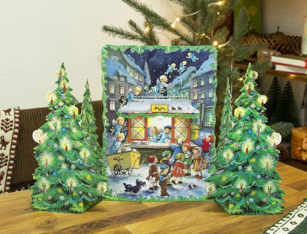 クリスマスの訪れを待ちわびて…飾って楽しむアドベントカレンダーが揃いました♪